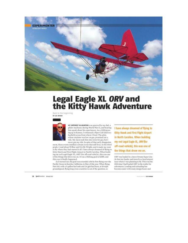January 2020 Sport Aviation